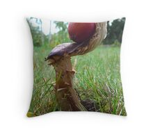 Let's play! (F is for fungi) Throw Pillow