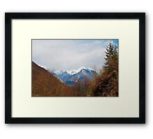 Landscape Near Zaga Framed Print