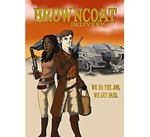 Browncoat Delivery Photographic Print