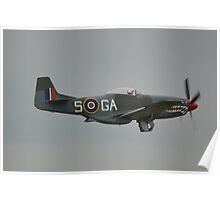 North American P-51D Poster