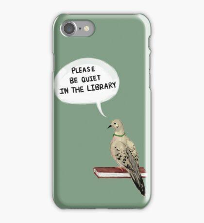Hatoful Boyfriend - Please Be Quiet In The Library (Nageki) iPhone Case/Skin