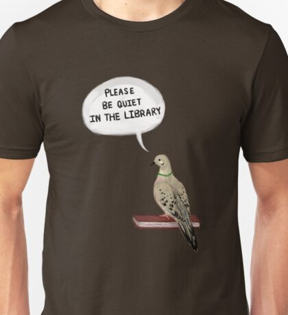Hatoful Boyfriend - Please Be Quiet In The Library (Nageki) Unisex T-Shirt