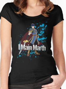I Main Marth - Super Smash Bros. Women's Fitted Scoop T-Shirt