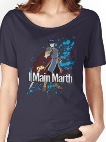 I Main Marth - Super Smash Bros. Women's Relaxed Fit T-Shirt