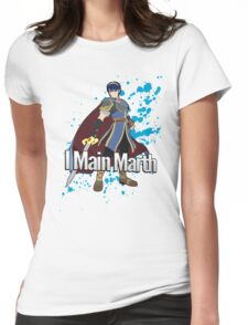 I Main Marth - Super Smash Bros. Womens Fitted T-Shirt