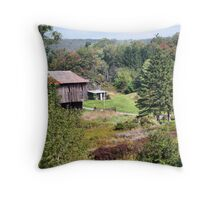 Valley Farm  Throw Pillow