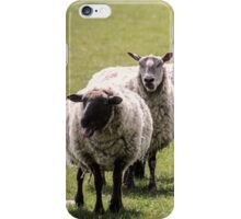 Gurning Sheep iPhone Case/Skin
