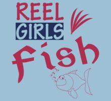 REAL GIRLS FISH T-Shirt