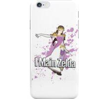 I Main Zelda - Super Smash Bros. iPhone Case/Skin