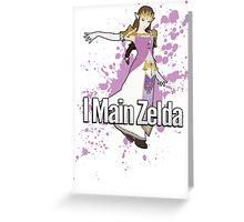I Main Zelda - Super Smash Bros. Greeting Card