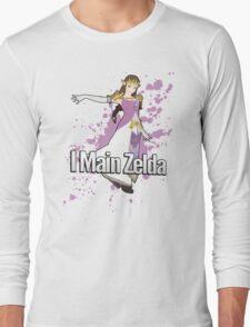 I Main Zelda - Super Smash Bros. Long Sleeve T-Shirt