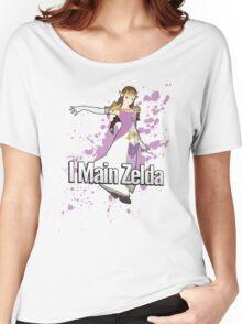 I Main Zelda - Super Smash Bros. Women's Relaxed Fit T-Shirt