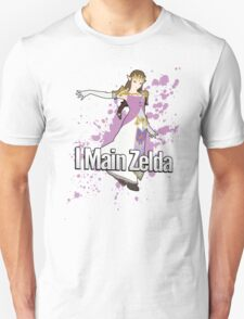 I Main Zelda - Super Smash Bros. T-Shirt
