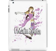 I Main Zelda - Super Smash Bros. iPad Case/Skin