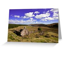 Ruin at Killypole Greeting Card