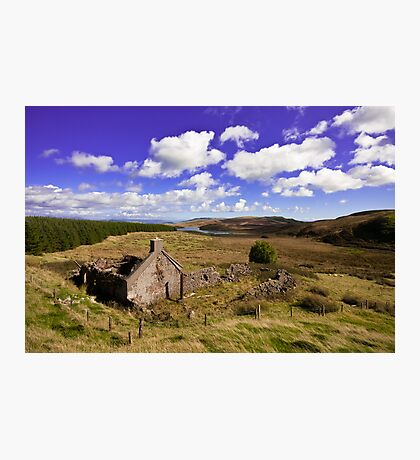 Ruin at Killypole Photographic Print