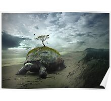 Turtle Island - Iroquois Creation Story Poster