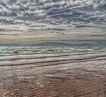Wave Cloud and Wave Sand. by David Alexander Elder