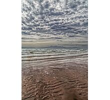 Wave Cloud and Wave Sand. Photographic Print