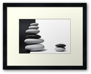 Pebble Zen by Alex  Bramwell