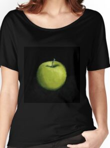 Green Apple Still Life Women's Relaxed Fit T-Shirt