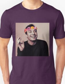 Jimmy Fallon- flower crown T-Shirt