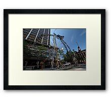 Art & About Bicycle, Sydney, Australia 2010 Framed Print