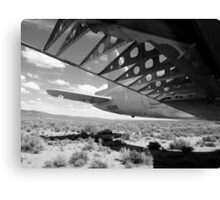 Flaps Down and Out Canvas Print