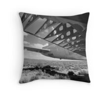 Flaps Down and Out Throw Pillow