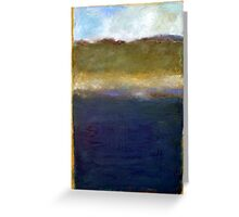 Abstract Dunes Greeting Card
