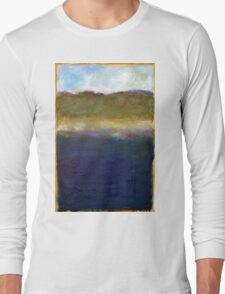 Abstract Dunes Long Sleeve T-Shirt