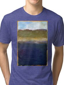 Abstract Dunes Tri-blend T-Shirt