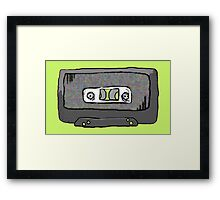 Mixed Tape Half Tones Framed Print