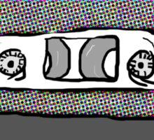 Mixed Tape Half Tones Sticker