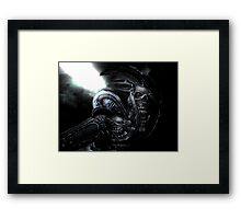 Xenomorph Montage 3 Framed Print