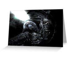 Xenomorph Montage 3 Greeting Card