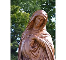 Blessed Mary Photographic Print