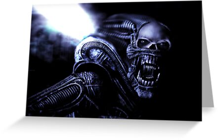 Xenomorph Montage 2 by Martin Hoskins