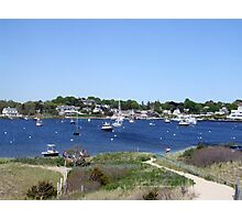 A View from Napatree Point - Bay in Watch Hill 2015 Photographic Print