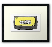 Yellow Tape Framed Print