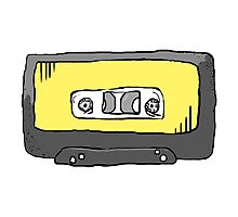 Yellow Tape Photographic Print