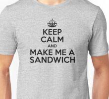 Keep Calm Sandwich Unisex T-Shirt