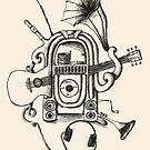 The Music Machine-For Prints by LeighAth