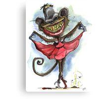 Monkey Monroe Canvas Print