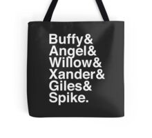 The Scooby Gang Classic White Tote Bag