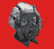 Albert Einstein gas mask by 2piu2design