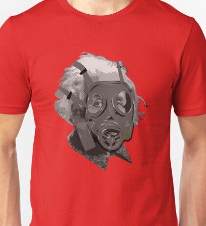 Albert Einstein gas mask Unisex T-Shirt
