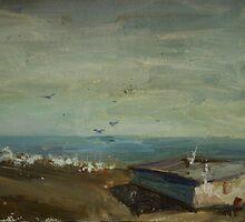 Seascape by Nina Zabrodina