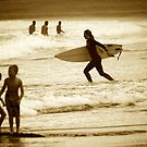 Late arvo surf by Alex Marks