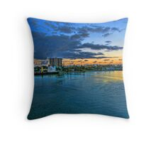 Puerto Rico Sunset Throw Pillow